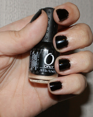 Orly Nail Varnish in Black Out