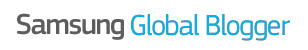 Samsung Global Blogger Logo