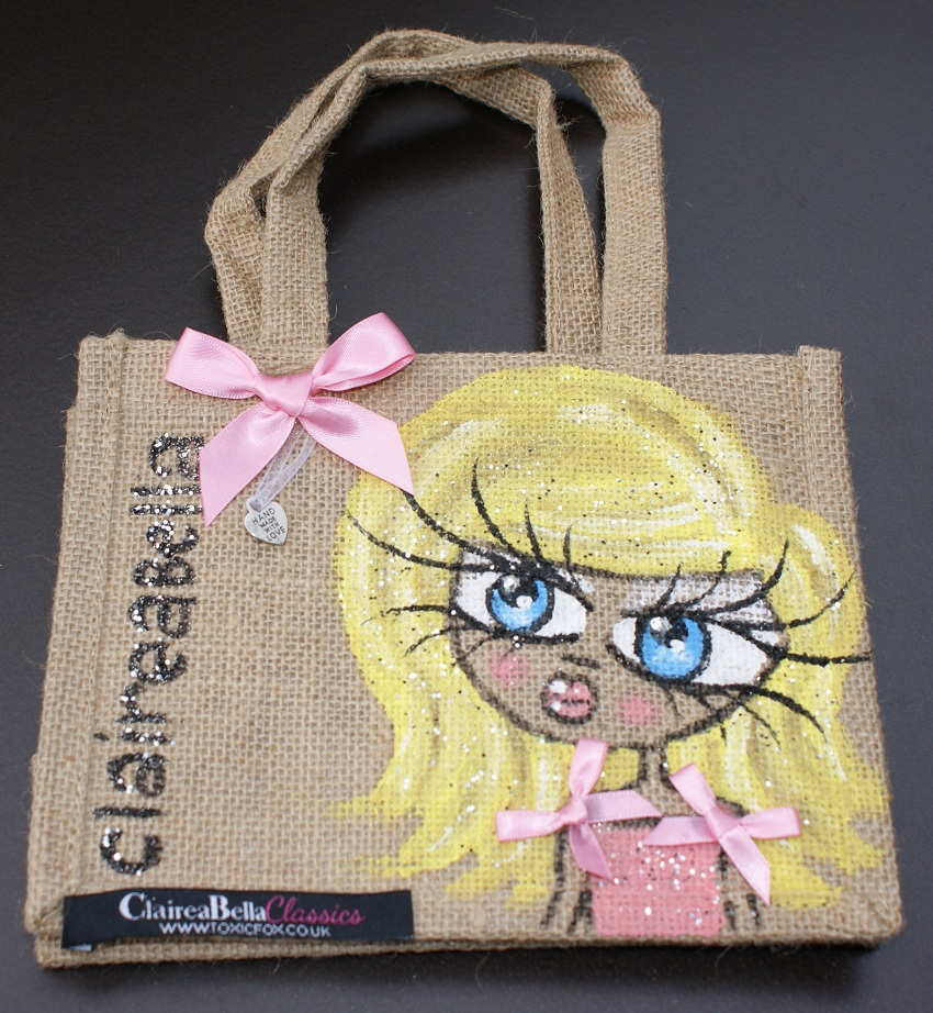 ClaireaBella Personalised Polo Jute Bag