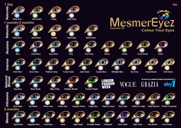 ItsRoxxi ¦ Mesmereyez Colour Contact Lenses Review (Unedited ...