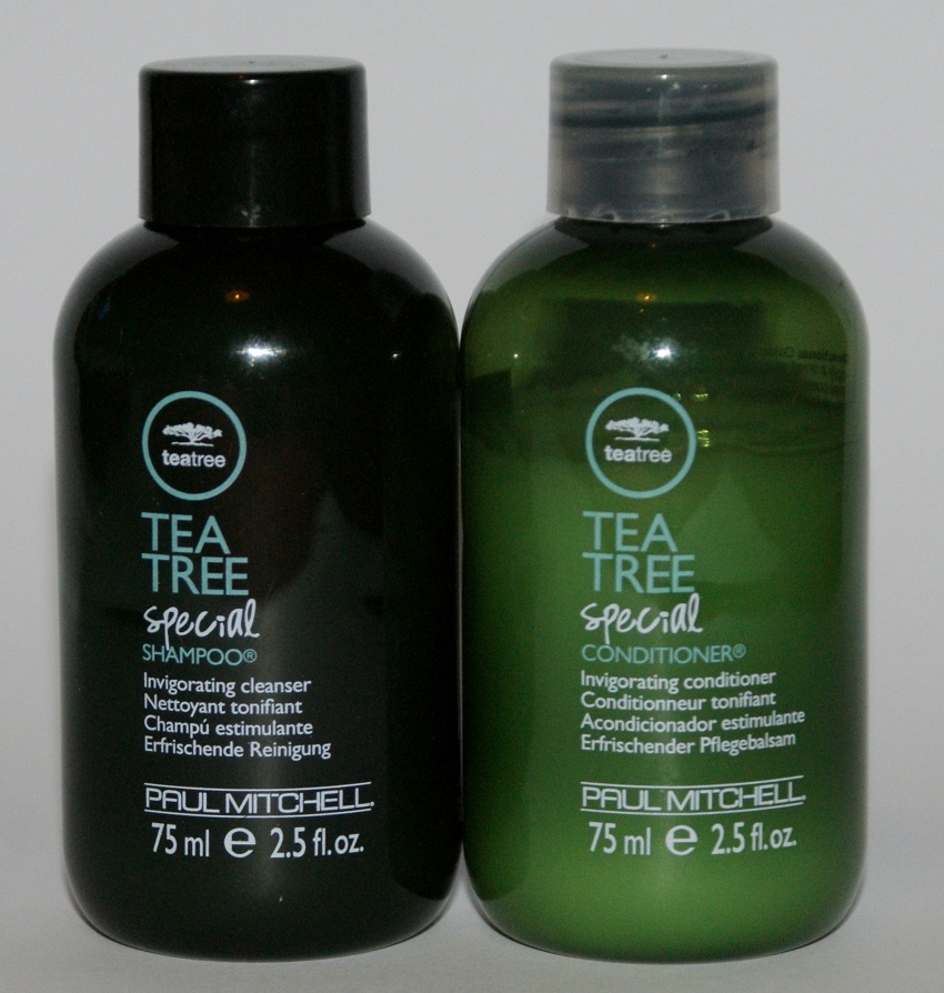 review paul mitchell tea tree special shampoo and conditioner. Black Bedroom Furniture Sets. Home Design Ideas