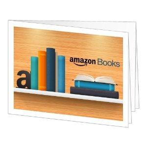 Amazon Books Gift Card