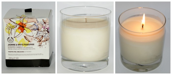Jasmine and White Frangipani Scented Candle