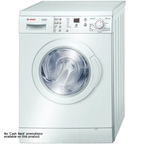 Bosch WAE24366GB 1200rpm Washing Machine 6kg Load Class A White