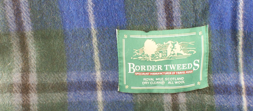 Blue Douglas Tartan Blanket Rug