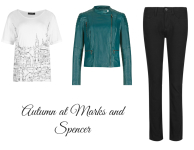 Autumn at Marks and Spencer