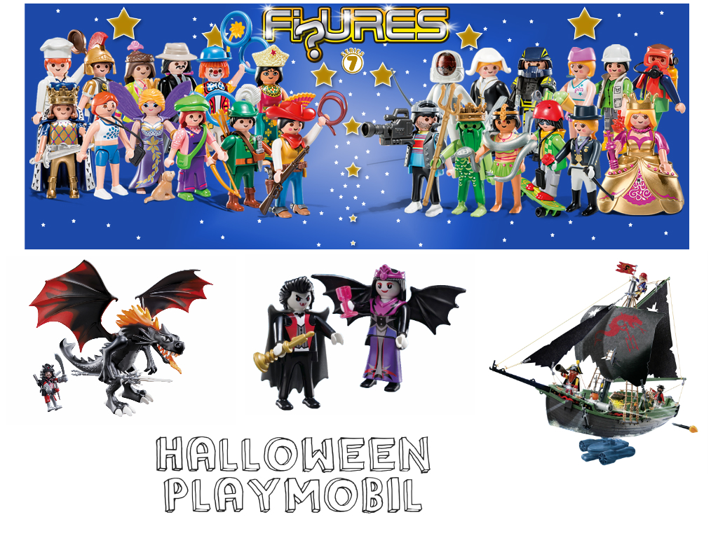 halloween at playmobil competition life in a break down