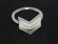 LucyQ Art Deco Arrow Ring