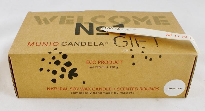 Munio Candela Gift Box in Cinnamon