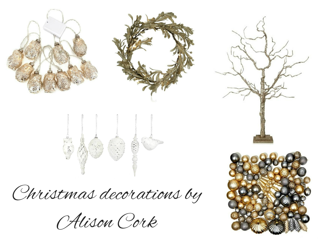 Cork christmas decorations - Christmas Decorations From Alison Cork
