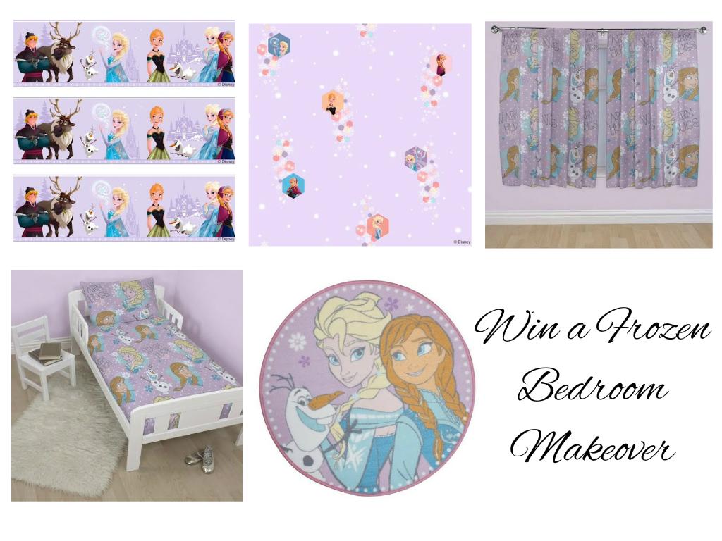 Win a Frozen bedroom make over