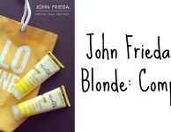 John Frieda Sheer Blonde Competition