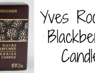 Yves Rocher Blackberry Candle