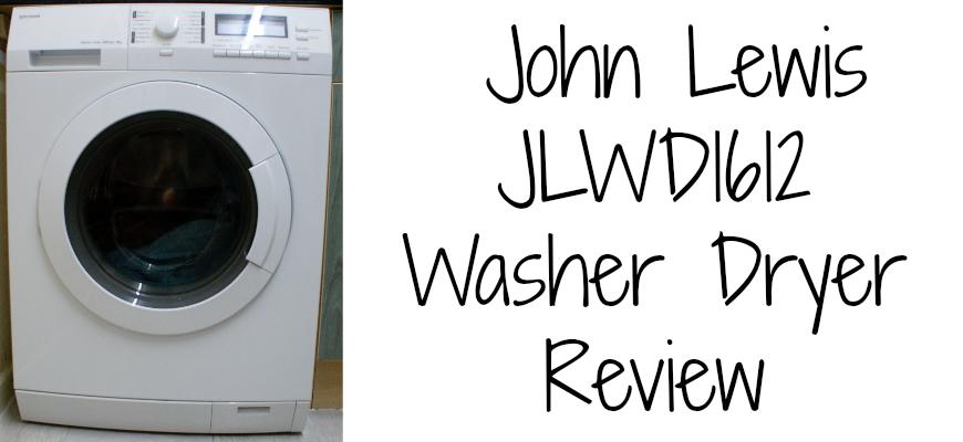 John Lewis JLWD1612 Washer Dryer