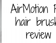 AirMotion Pro hair brush