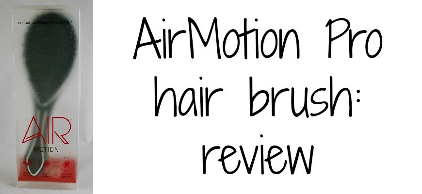 AirMotion Pro hair brush