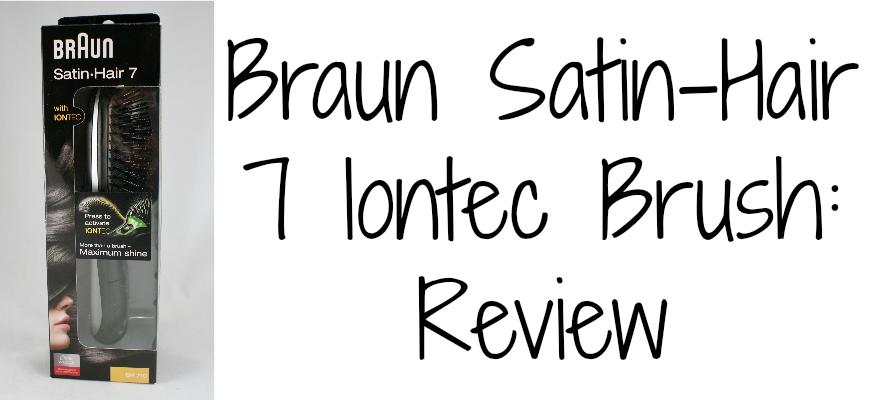 Braun Satin-Hair 7 Iontec Brush