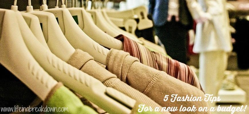 5 Fashion Tips