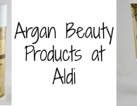 Argan Beauty at Aldi