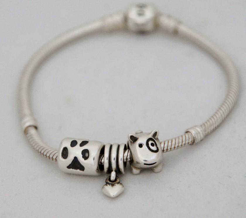 Hand on Heart Jewellery  - Paw Print Charm