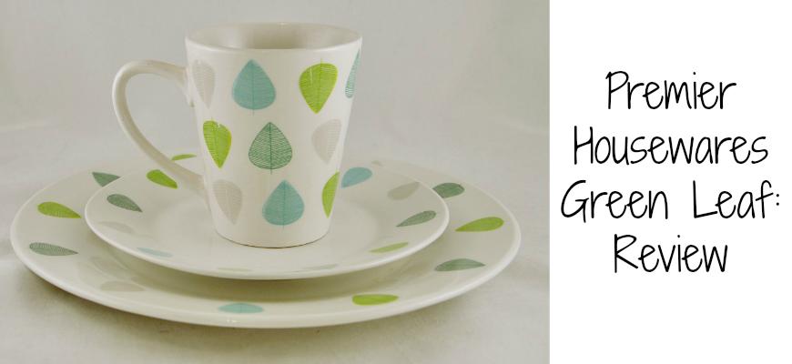 Premier Housewares Green Leaf
