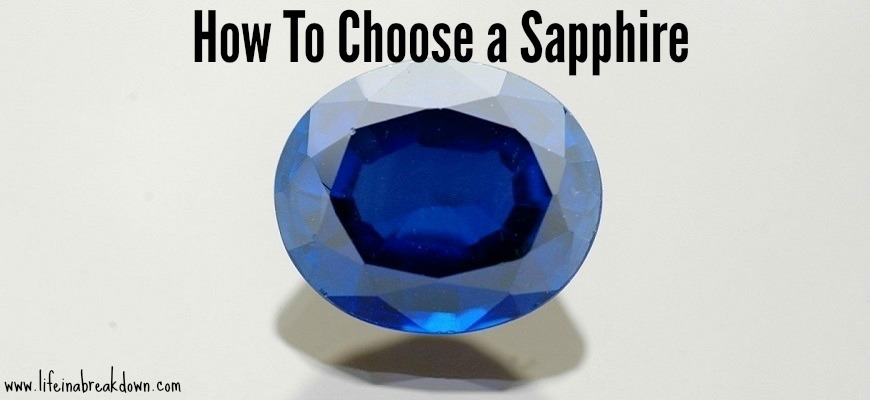 How To Choose a Sapphire
