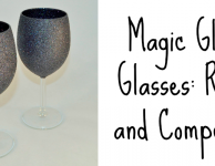 magic glitter glasses