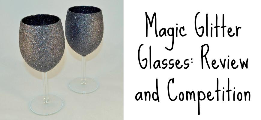 magic glitter glasses