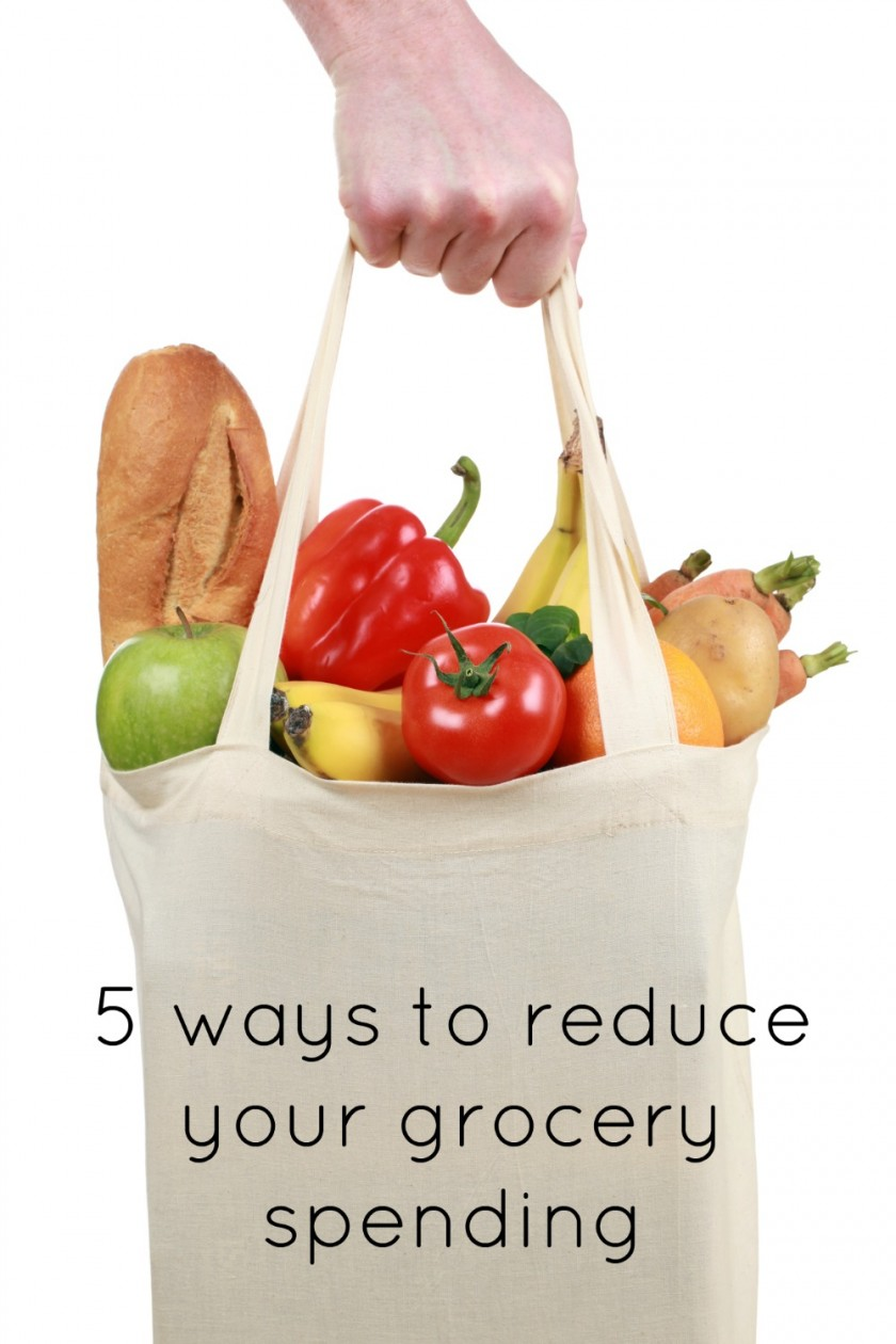 5 ways to reduce your grocery spending