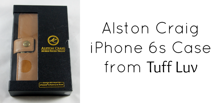Alston Craig iPhone 6s Case from Tuff Luv