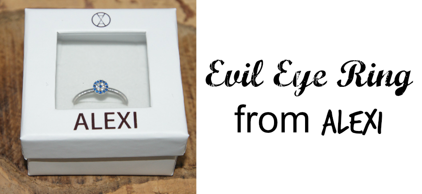 Evil Eye Ring from ALEXI