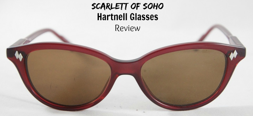 Scarlett of Soho Hartnell Glasses