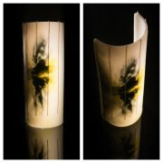 life in a break down black yellow candle
