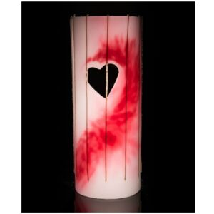 life in a break down hot love candle