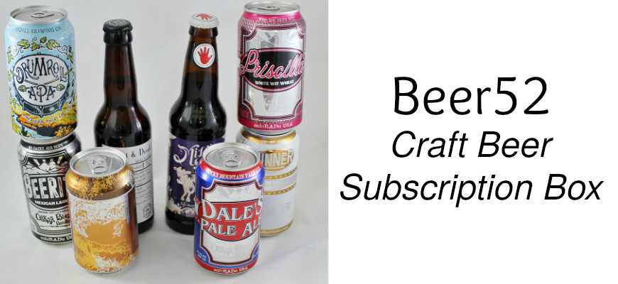 Beer52 Subscription Box