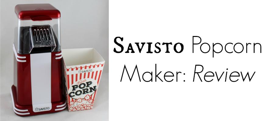 Savisto PopCorn Maker