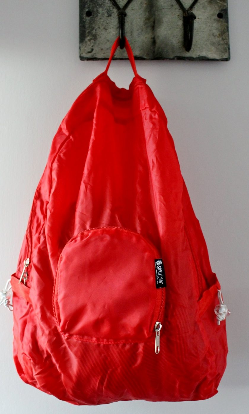 PAKitToMe Red Rucksack
