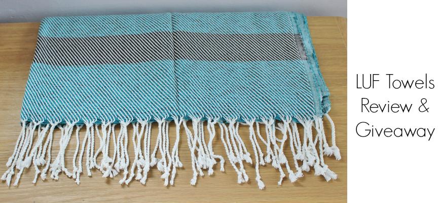 LUF Towels Kalkan - Turquoise