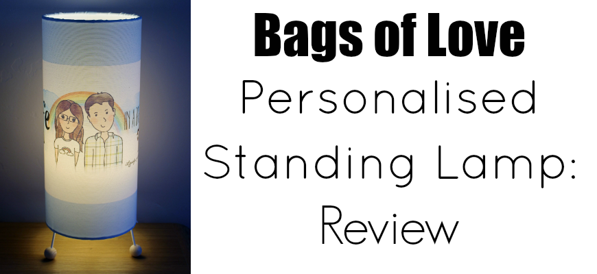 Bags of Love Personalised Lamp Review