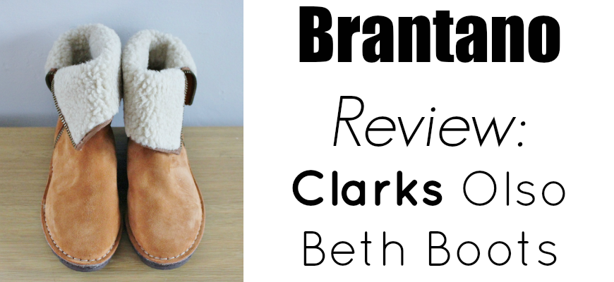 Brantano Review Clarks Olso Beth Boots