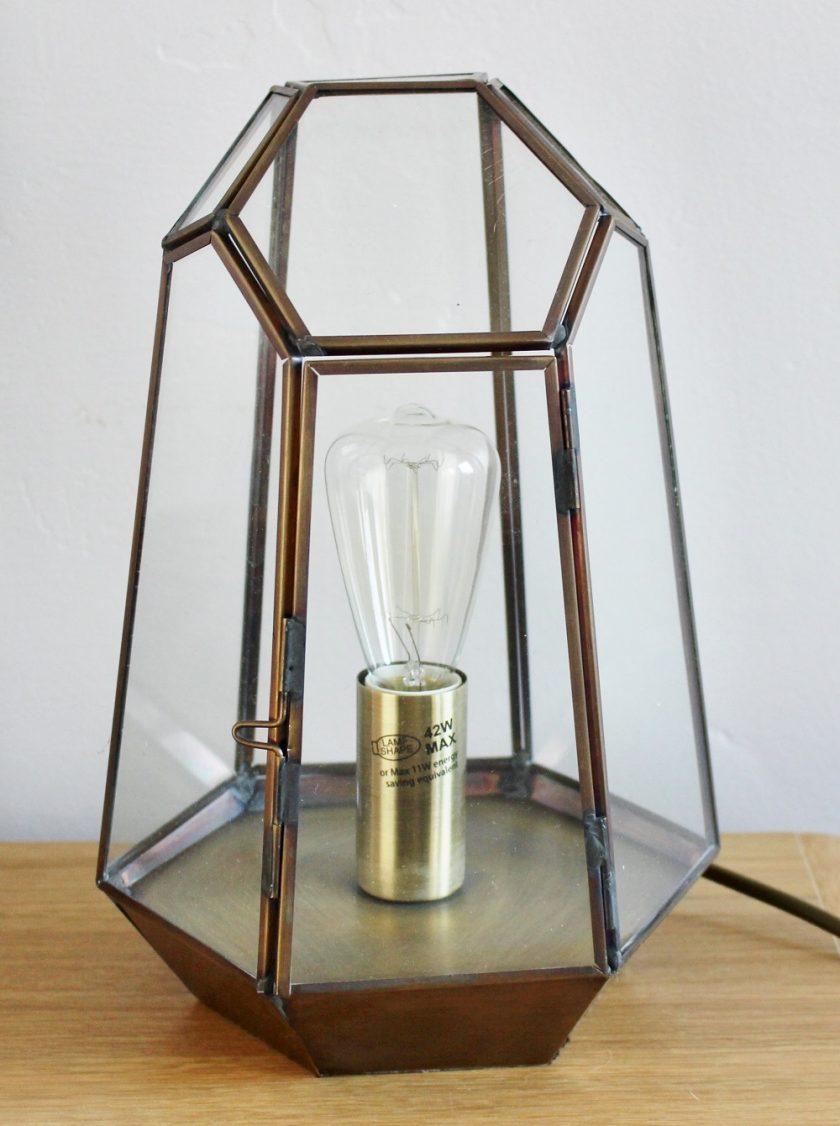 Litecraft Terrarium Candle Lantern Table Lamp: Review ...