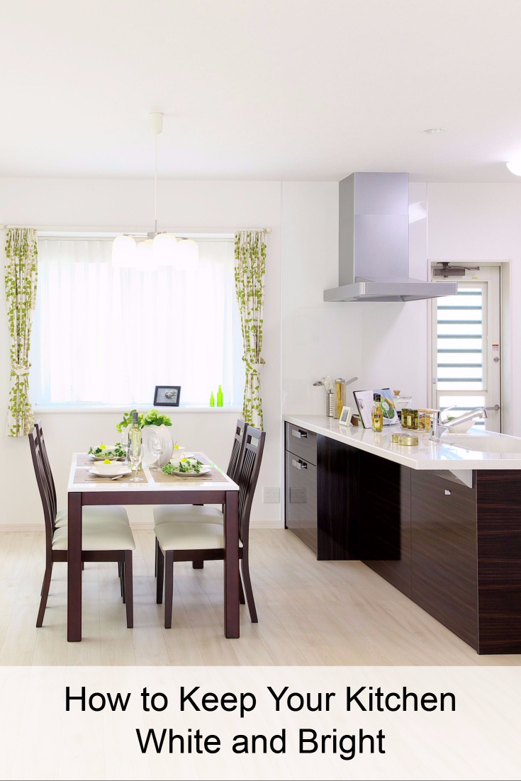 How to Keep Your Kitchen White and Bright