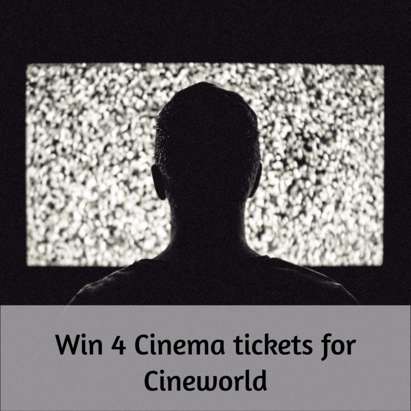 Win 4 Cinema tickets for Cineworld (1)