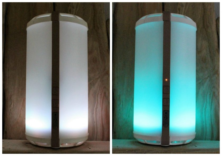 Scentsy Go Review Scentsy Go Lit Up White / Teal