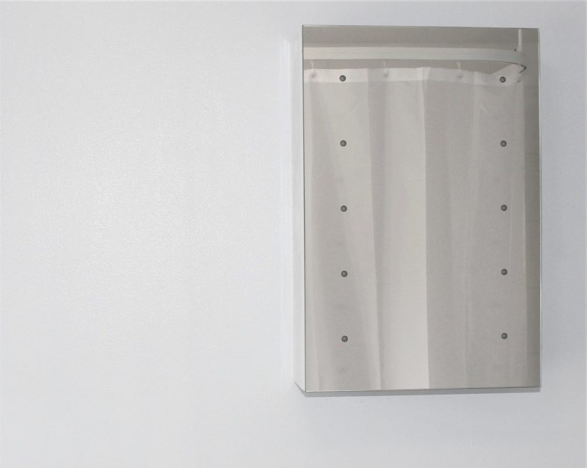 Tremolo LED Battery Cabinet from Lumino Mirrors