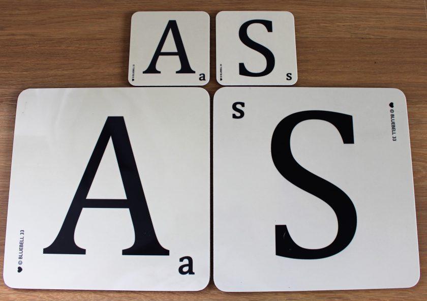 Alphabet Placemats Alphabet Coasters