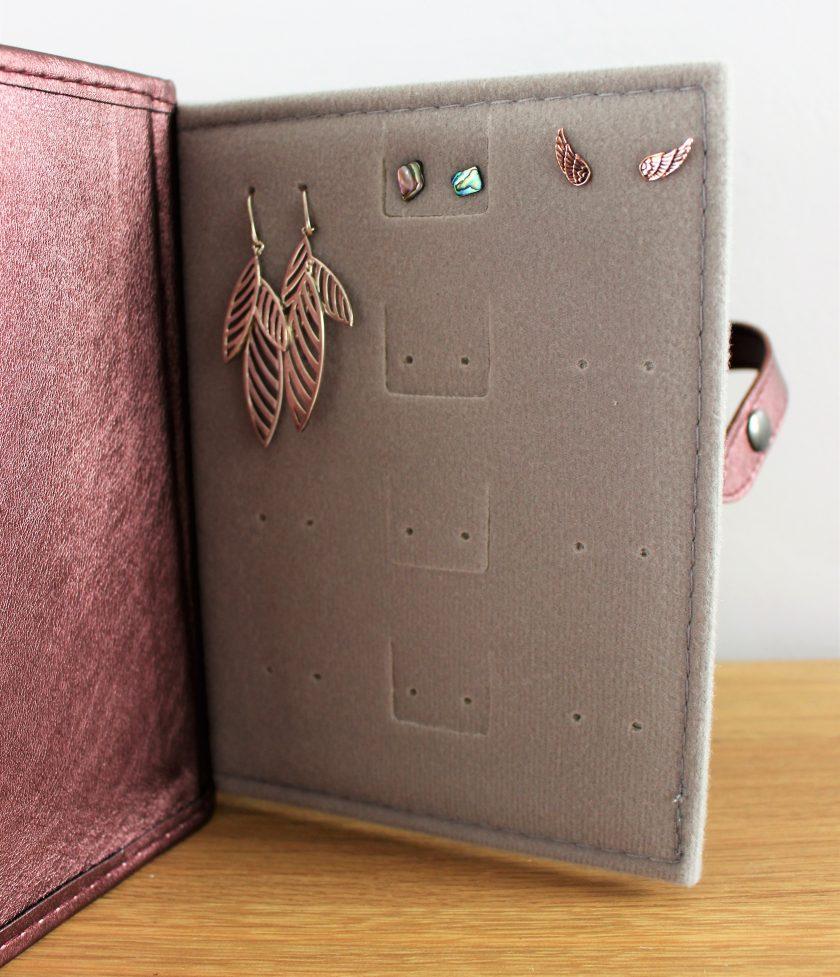 Bronze Little Travel Book of Earrings