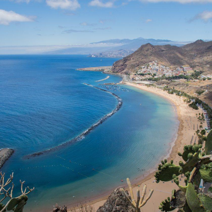 Tenerife Coast Line Stock Image