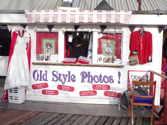 Visit Brighton Pier with Tilly and Vicky Old Style Photo Booth