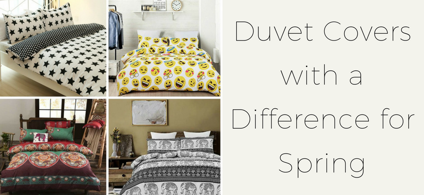 Duvet Covers with a Difference for Spring